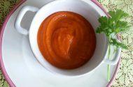 Gegrilde Paprika - Pompoen soep