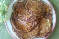 pancakes met mango